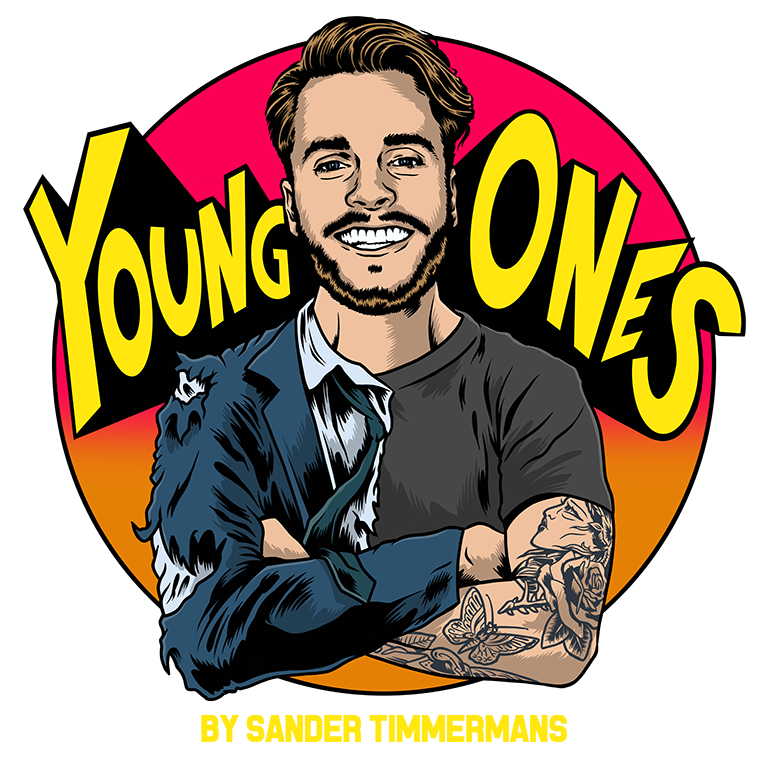 Artwork Young Ones Podcast Jonge Ondernemers